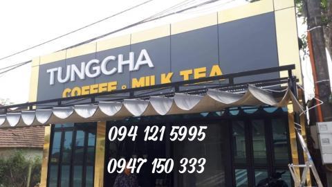 Mái Xếp Di Động Cho Quán Cà Phê, Trà Sữa Tại Hà Tĩnh